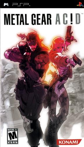 دانلود بازی Metal Gear Acid (USA) PSP ISO - اندروید + ویندوز