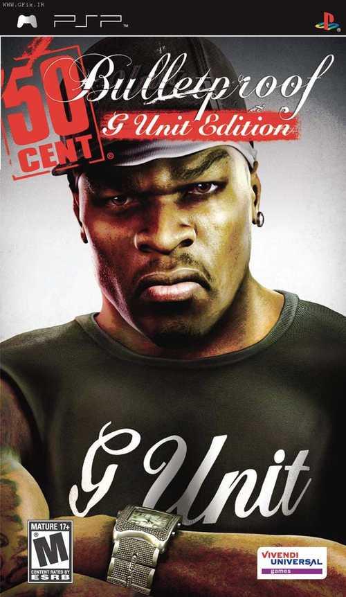 دانلود بازی 50 Cent: Bulletproof برای پی اس پی