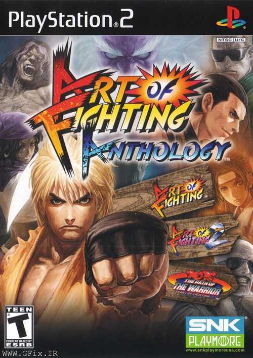 دانلود بازی Art of Fighting Anthology - پلی استیشن 2