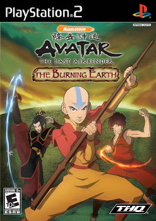 دانلود بازی Avatar The Last Airbender The Burning Earth - پلی استیشن 2