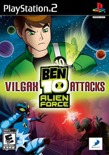 دانلود بازی Ben 10 Alien Force Vilgax Attacks - پلی استیشن 2