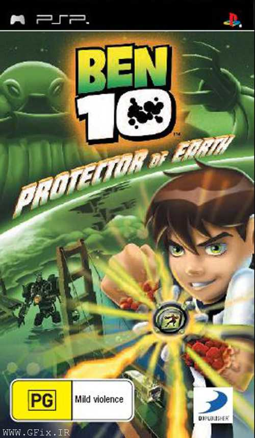 دانلود بازی Ben 10: Protector of Earth برای پی اس پی