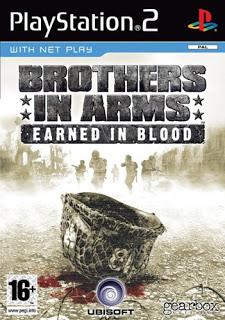 دانلود بازی Brothers in Arms Earned in Blood - پلی استیشن 2