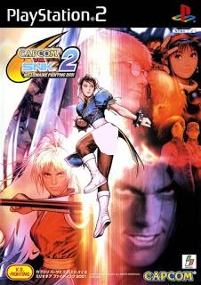 دانلود بازی Capcom vs SNK 2 Mark of the Millennium 2001 - پلی استیشن 2