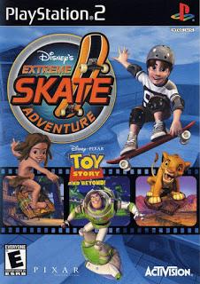 دانلود بازی Disney's Extreme Skate Adventure - پلی استیشن 2