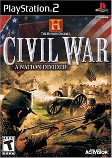 دانلود بازی History Channel The Civil War A Nation Divided - پلی استیشن 2
