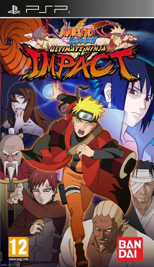 دانلود بازی Naruto Shippuden: Ultimate Ninja Impact برای پی اس پی