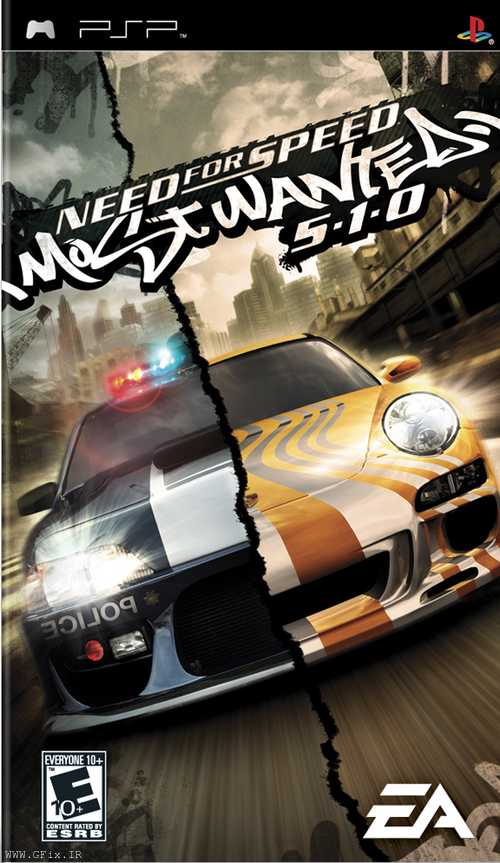 دانلود بازی Need for Speed Most Wanted 5-1-0 برای پی اس پی