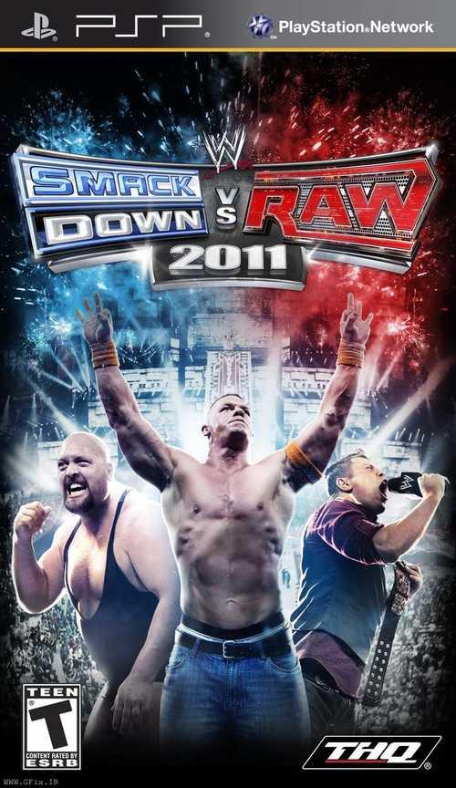 دانلود بازی WWE SmackDown vs. Raw 2011 برای پی اس پی